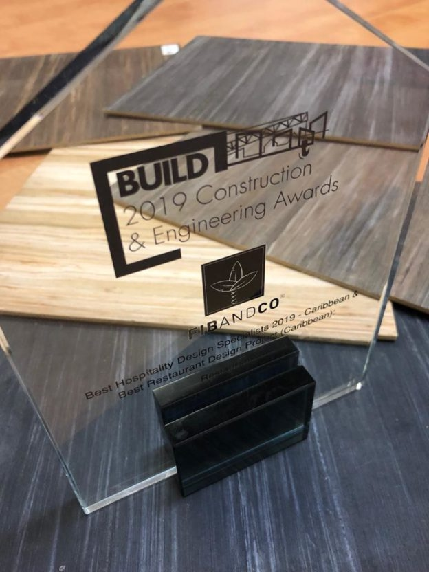 "Prix du meilleur ""Hospitality and Restaurant Design"""